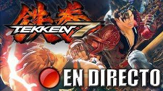 Jugando a Tekken 7 Offline [DIRECTO]