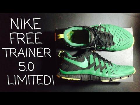 Nike Free Trainer 5.0 Oregon Ducks Edition + On Feet! (HD) - YouTube cc76814357