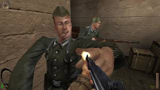 Medal of Honor_ Allied Assault. Part 4 _Operation Overlord(1080P_60FPS)
