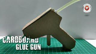Cara membuat alat lem tembak sendiri dari kardus