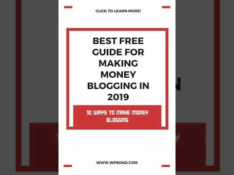Free Guide For Making Money Blogging 2019