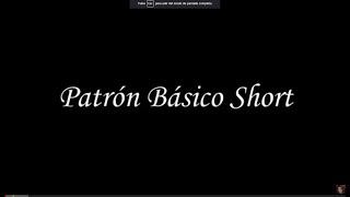 Como Hacer El Patron Basico De El Short  How to Make the Basic Pattern of the Short - Jazmin Gatelum
