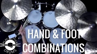Hand & Foot Combinations /// Play Better Drums w/ Louie Palmer