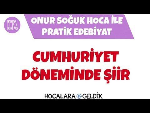Cumhuriyet'in İlk Yıllarında Türk Şiiri