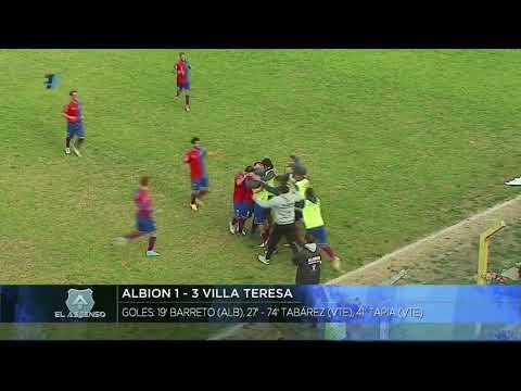 Gol de Bruno Barreto Fecha 20 Albion vs Villa Teresa - 2018