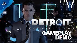 Detroit: Become Human - PS4 Live Gameplay Demo | E3 2017