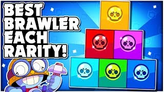 BEST Brawler For Each RARITY In Brawl Stars! - New Meta Brawler Rankings April!