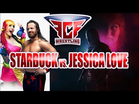 ROPECON 2016 FCF WRESTLING MAIN EVENT STARBUCK vs JESSICA LOVE