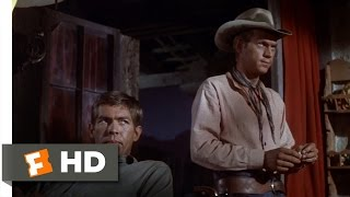 The Magnificent Seven (10/12) Movie CLIP - Gunfighter Arithmetic (1960) HD