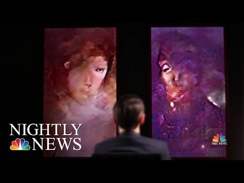 How Artificial Intelligence Is Changing The Art World | NBC Nightly News