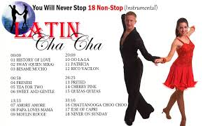 Latin Cha Cha You Will Never Stop 18 Non Stop Instrumental (HQ)