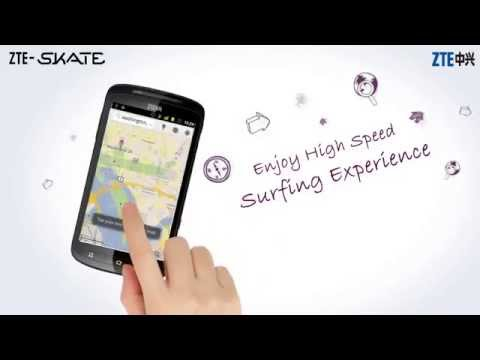 ZTE SKATE, Smart Choice, Bright Life