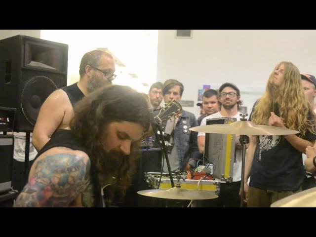 The Body - Live 4/19/2015 @ Gatewood Studio Arts Building UNC-G GSO