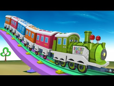 Cartoon For Kids - Thomas The Train - Trains for Kids - Choo