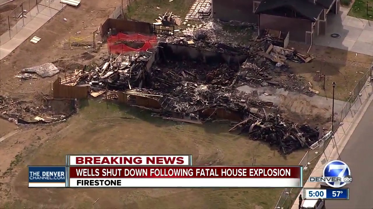 Oil-gas wells shut down after Colorado home explosion