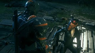 Batman Arkham Knight: Deathstroke Catwoman Dual Play Mod