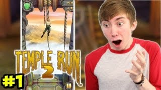 Let's play TEMPLE RUN 2 - Part 1 (iPhone Gameplay Video)