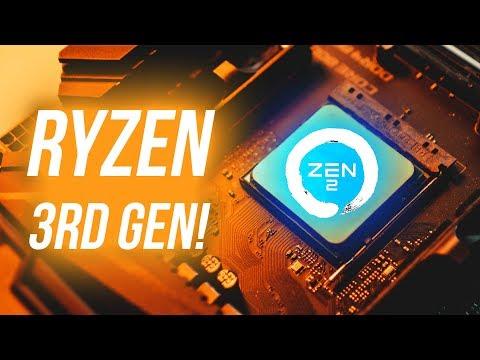 Why AMD Ryzen 3rd Gen & Zen 2 Should Get You VERY Excited! - YouTube