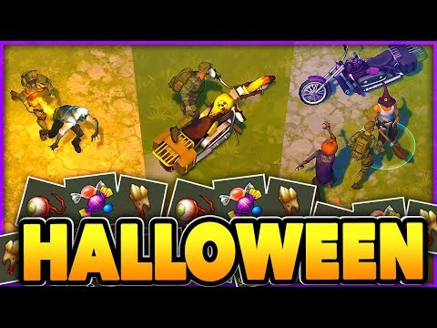 HALLOWEEN UPDATE + CHOPPER!! Last Day on Earth ZOMBIE Survival!