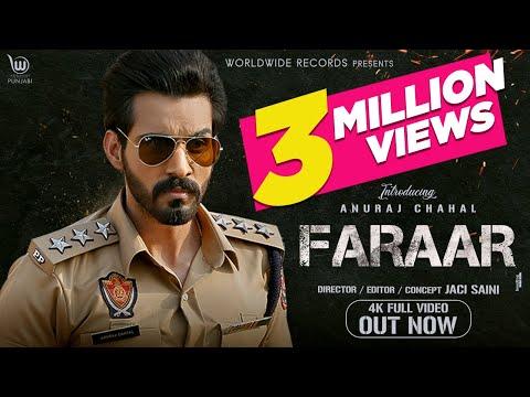 Faraar (Official Video) |  Anuraj Chahal | Preet Hundal | Latest Punjabi Songs 2020