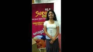 Oscar Award Winner 'Life Of Pi' Movie Female lead Shravanthi Sainath Speaks to Suryan Fm 93.5