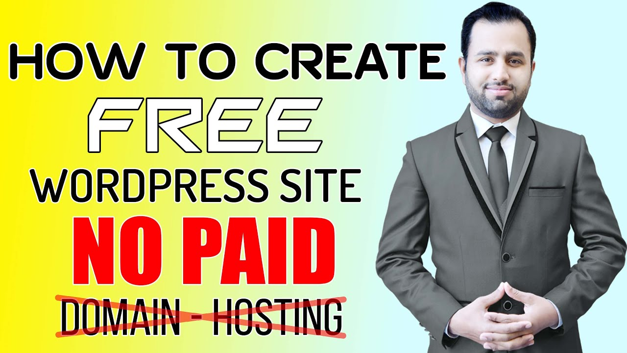 Create Free WordPress Website Without Paid Domain | build a website | clickbank affiliate marketing