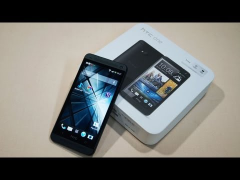 HTC One M7 - Unboxing & Hands-On - Cursed4Eva.com