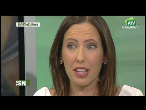 Leslie Jordan entrevistada en AndalucíaTv por Jesús Vigorra
