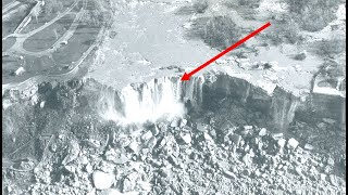 When Engineers Drained The Niagara Falls In 1969 They Made A Worrying Discovery