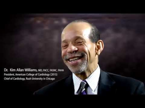 Dr Kim Williams talks about being the first VEGAN President of the American College of Cardiology