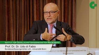 """Udo di Fabio - """"Europa für alle? Aspekte der neuen Völkerwanderung"""""""
