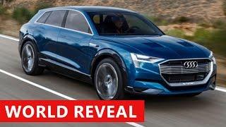 2018 Audi Q8 Exterior & Interior - First Look