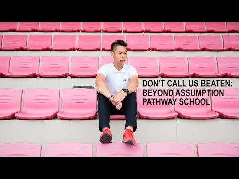 Beyond Assumption Pathway School | Don't Call Us Beaten | Channel NewsAsia Connect