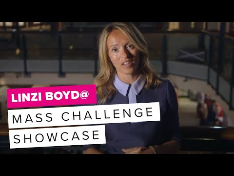 Linzi Boyd Speaks at Mass Challenge Showcase