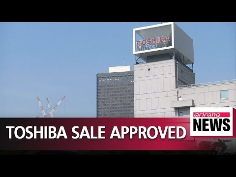 China gives green light to Toshiba's US $18 bil. sale of its memory-chip unit