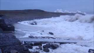 Rest Bay, Porthcawl - January Storm 2014