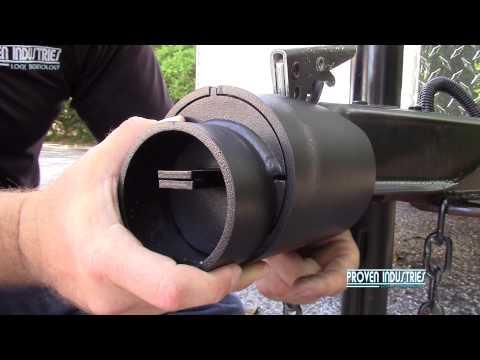 Proven Industries Model 2178 Coupler Lock Installation
