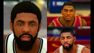 Kyrie Irving Ratings, Stats and Gameplay Evolution (NBA 2K12 - NBA 2K20)