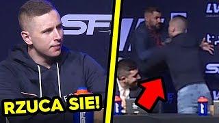 Rafonix rzuca sie na Wojtka Gole! FAME MMA 5