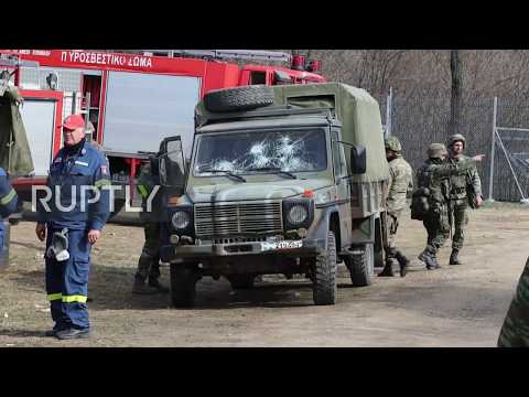 Greece: Greek army deployed at Turkish border as migrants seek to enter Europe