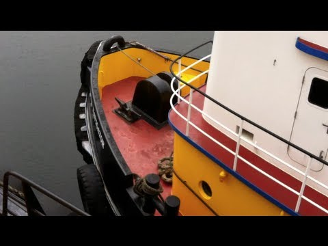 Seattle Tug Boat Control Room Tour and Industry Insight