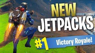 Jetpacks are ACTUALLY in Fortnite! (Fortnite Jetpack Gameplay)