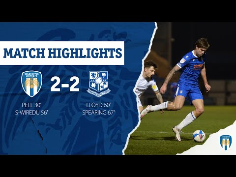 Colchester Tranmere Goals And Highlights