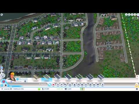 SimCity EDUCATION + HIGH/MEDIUM Wealth Walkthrough COOL CITY