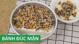 Cách làm Bánh Đúc Mặn nước cốt dừa miền Nam ngon | Món Việt