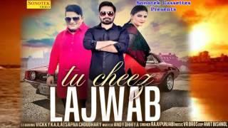 Tu Cheez Lajwab    Vicky Kajla, Sapna, Raju Punjabi    Haryanvi New Audio Song    तू चीज लाजबाब