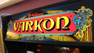 Game | Classic Game Room VARKON arcade game pinball machine review | Classic Game Room VARKON arcade game pinball machine review