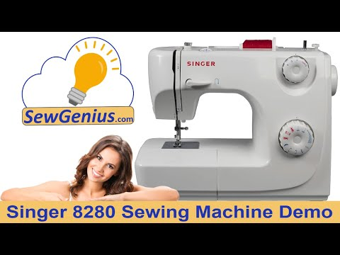 Singer 8280 Sewing Machine Demo Video