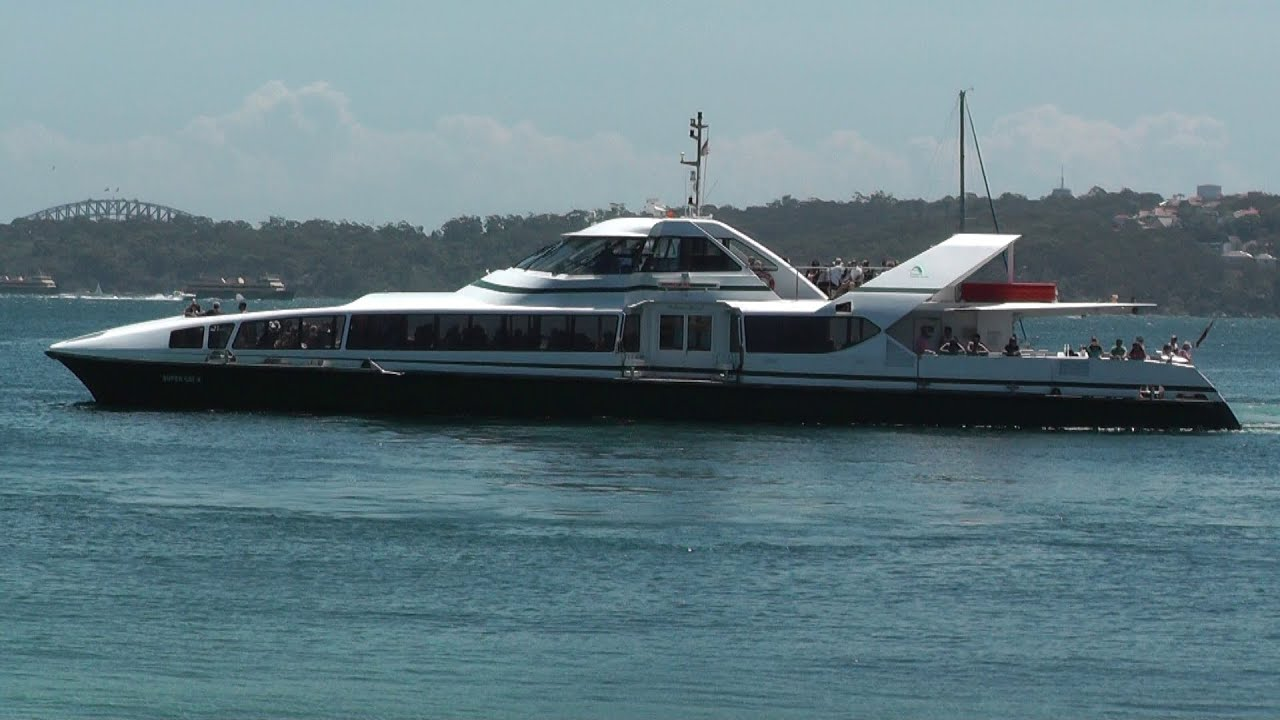 SuperCat 4 High Speed Catamaran Ferry - Sydney to Watsons ...