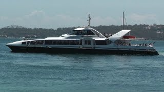 SuperCat 4 High Speed Catamaran Ferry - Sydney to Watsons Bay